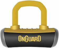 OnGuard 8000 Series Boxer 13mm Shackle Disc Lock Motorcycle Security 8048C