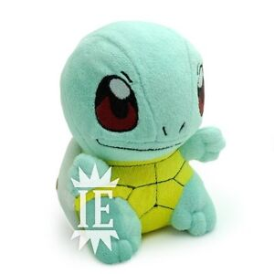 POKEMON-SQUIRTLE-PELUCHE-plush-Carapuce-Schiggy-doll-figure-blastoise-banpresto