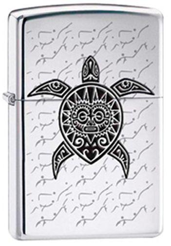 Polynesian Hawaiian Sea Turtle Tattoo Chrome Zippo Lighter Ebay