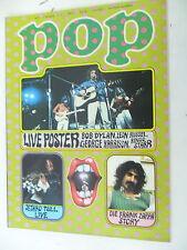 1 x Magazin - Pop Nr.4 - 7. Jahrgang -1972  seltene Musikzeitschrift -Z.sehr gut