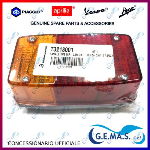 Fanalino posteriori stop DX ORIGINALE TRIOM Piaggio APE 600 601 MP 501 T3218001
