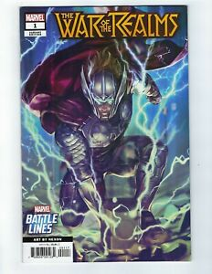 War-Of-The-Realms-1-Battle-Lines-Variant-Cover-NM-Marvel