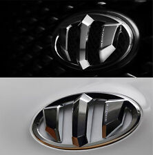Front Rear Steering Wheel Brenthon Emblem 3p For 13-15 Hyundai Veloster Turbo