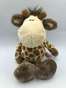 Small-NICI-Giraffe-Plush-Kids-Soft-Stuffed-Toy-Animal-Doll-Wild-Brown-Teddy-Bear