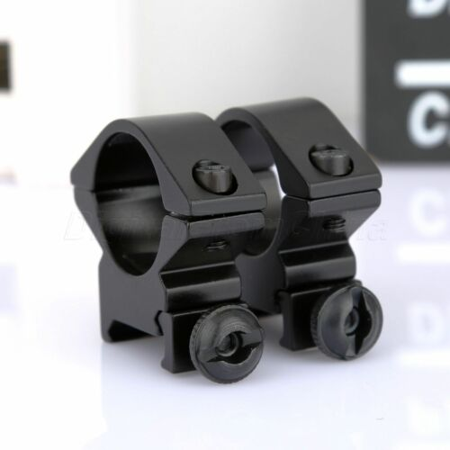 "Wholesale Lots Low Profile 25.4mm 1/"" Ring Scope Mounts for 20mm Picatinny Stock"