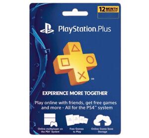 Sony-PlayStation-Plus-1-Year-Membership-Subscription-Card-USA-Region