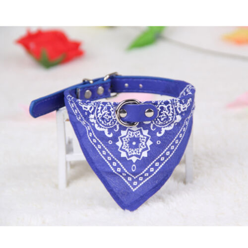 Vouge Adjustable Pet Dog Puppy Cat Neck Scarf Bandana with Collar Neckerchief C3