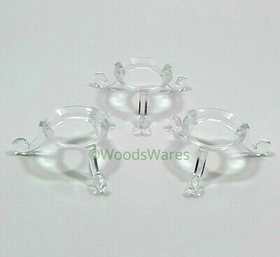 spheres geodes balls ornaments crystals Acrylic Egg Stands display marbles