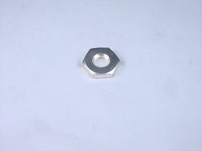 """Lot of 2 MS25082-C8 MIL Hex Nut 15//32-32 x 9//16/"""" Wide 5//64/"""" Thick CRES Stainless"""