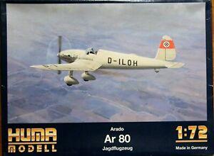 Huma 1/72 Arado Ar 80 unmade complete kit sealed