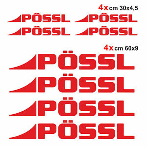 Kit-completo-8-adesivi-per-camper-Possl-ROSSO-loghi-possl-caravan-roulotte