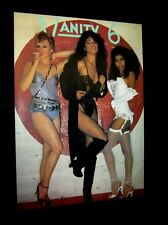 Original 1982 VANITY 6 FAN CLUB POSTER Prince PRN Vintage Poster NOT A REPRINT