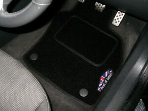Best Of British Black Car Mats To Fit Bmw Mini Roadster 2012 2015