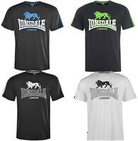 Lonsdale London 2 Stripe Logo Löwe T-Shirt Herren S M L XL 2XL Tee neu