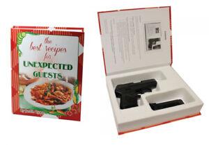 Hand Gun Hider Book Safe-Best Recipes SM Hidden Safe