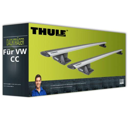 Dachträger Thule WingBar EVO für VW CC Typ 358 NEU komplett Aluminium