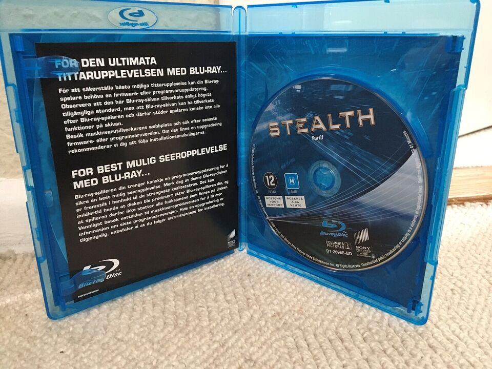 STEALTH, instruktør ROB COHEN, Blu-ray
