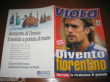 LA FIORENTINA RIVISTA VIOLA=2003/12=OMAR GABRIEL BATISTUTA=