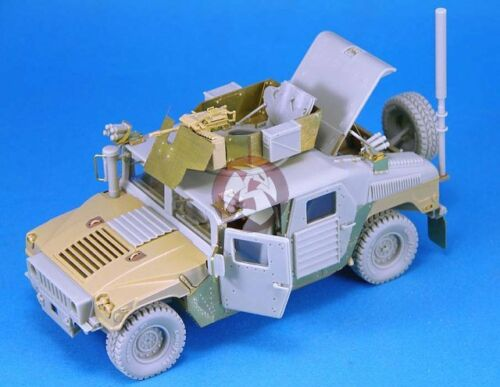 "Legend 135 M1114 ""uparmored"" HMMWV Humvee Conversion Set for Tamiya LF1203"