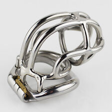 """S056 Handmade Stainless Steel Male Chastity Cage Device- Extra Large 2.25"""" Ring"""