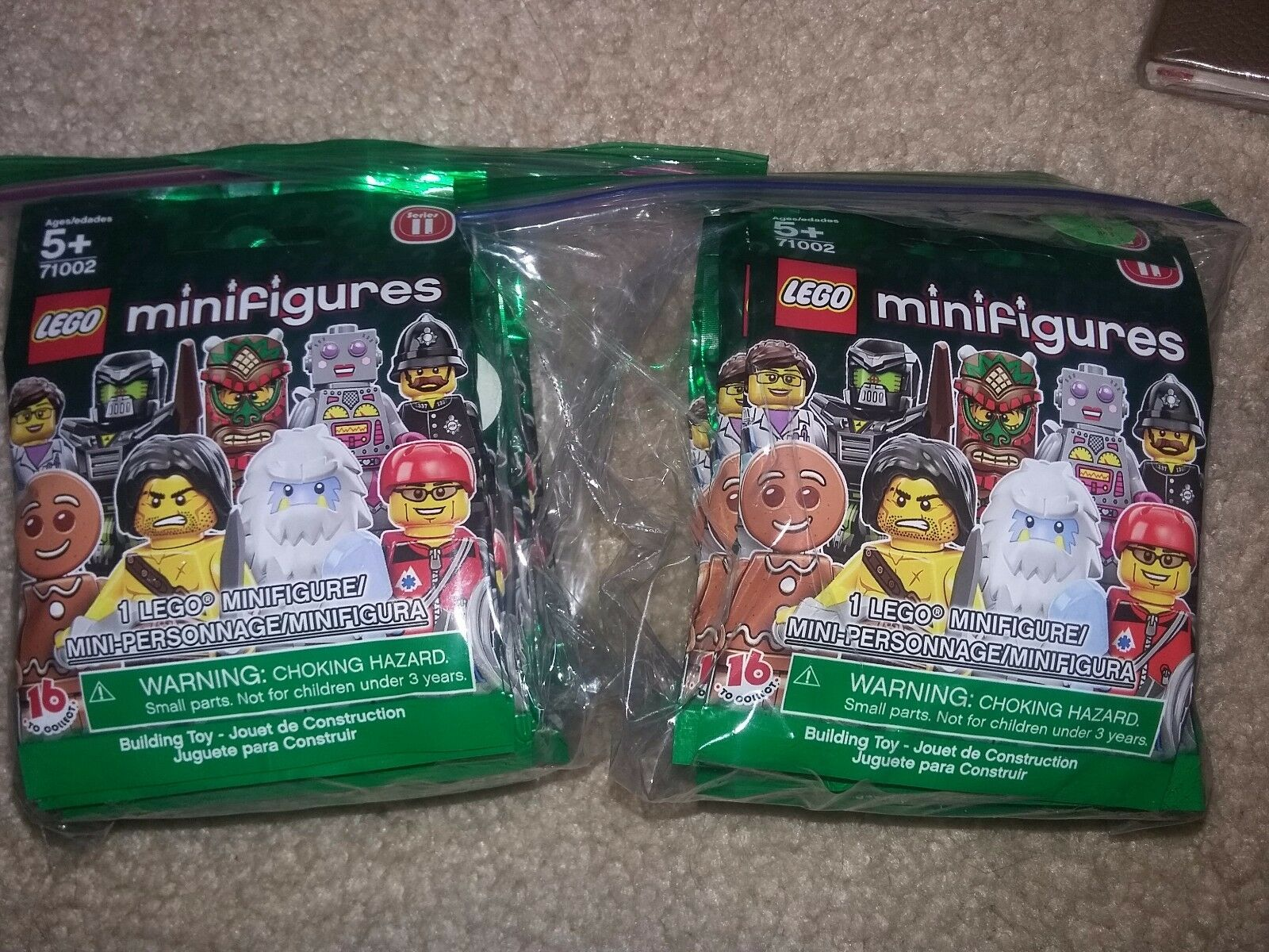 LEGO CMF Collectible Minifigures Minifigures Minifigures Series 11 71002 Complete Set of 16 New Sealed 88b6c8