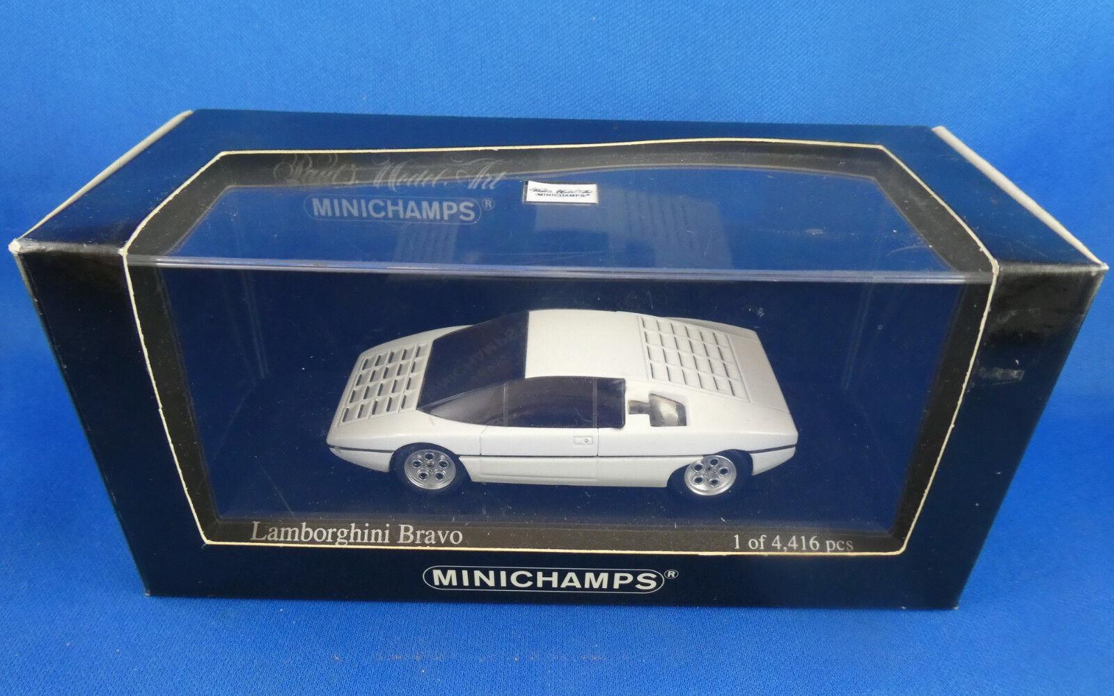 MINICHAMPS LAMBORGHINI BRAVO 1974 serie limitee  4416    NEUVE BOITE NON OUVERTE