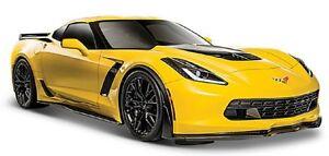 Maisto-1-24-2015-Corvette-Z06-Diecast-Model-Racing-Car-Vehicle-Toy-New-in-Box