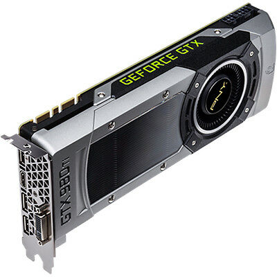 PNY Nvidia GeForce GTX 980 Ti 6GB GDDR5 Gaming Graphics Card VCGGTX980T6XPB-CG