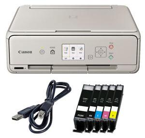 Canon-PIXMA-TS5050-TS5053-impresora-escaner-copiadora-5-x-XL-de-tinta-USB