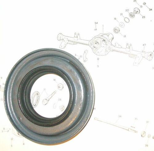 LEA FRANCIS 14 /& 18   Diff Differential Front Pinion Oil Seal 1951-54