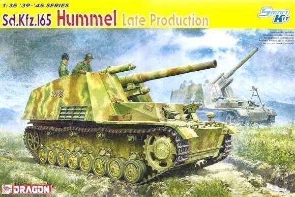 Dragon 6321 1 35 Sd.Kfz.165 Hummel Late Production, Smart Kit