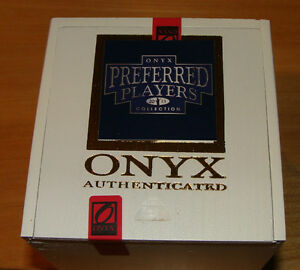 2013 Onyx Preferred Players Choice Hobby Box Seal Signed MLB Baseball Ball