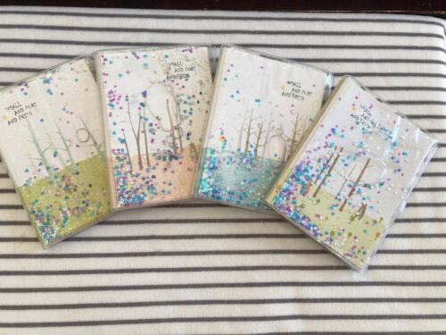 AIJINotizbuch//Tagebuch farbige Rand 80g//m² Floating Star PVC Cover A6 Taschen