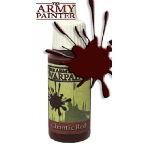 Chaotic Red *The Army Painter* Warpaint