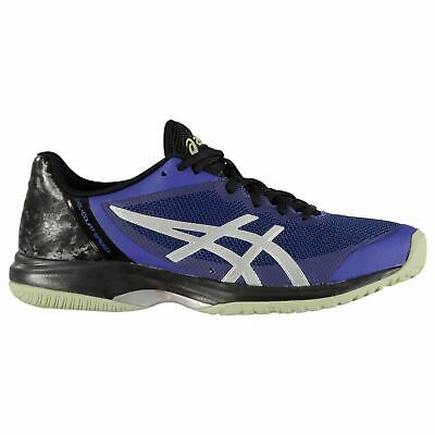 Heerlijk Asics Gel Court Speed Tennis Shoes Mens Gents Laces Fastened Padded Ankle Collar Chinese Smaken Bezitten