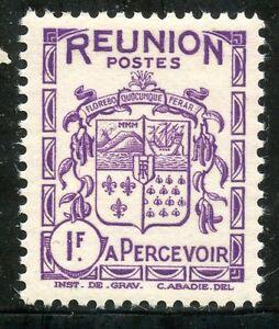 AgréAble Timbres Colonies Francaises / La Reunion / Blason / Armoirie / Taxe N° 23 ** Bas Prix