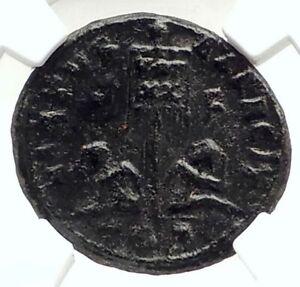 LICINIUS-II-Jr-Authentic-Ancient-320AD-Genuine-Roman-Coin-w-CAPTIVES-NGC-i76307