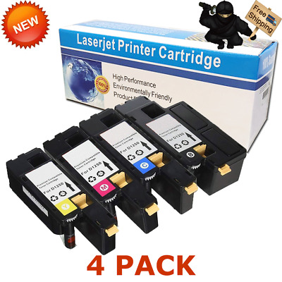 1PK Yellow Toner 1250 For Dell 1250 Color Laser C1760 C1760nw 1355CNW C1765NF