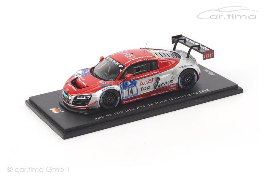 marcas de diseñadores baratos Audi r8 LMS ultra ultra ultra - 24h nurburgring 2013-Werner bollrath saurenmann honor  precio al por mayor