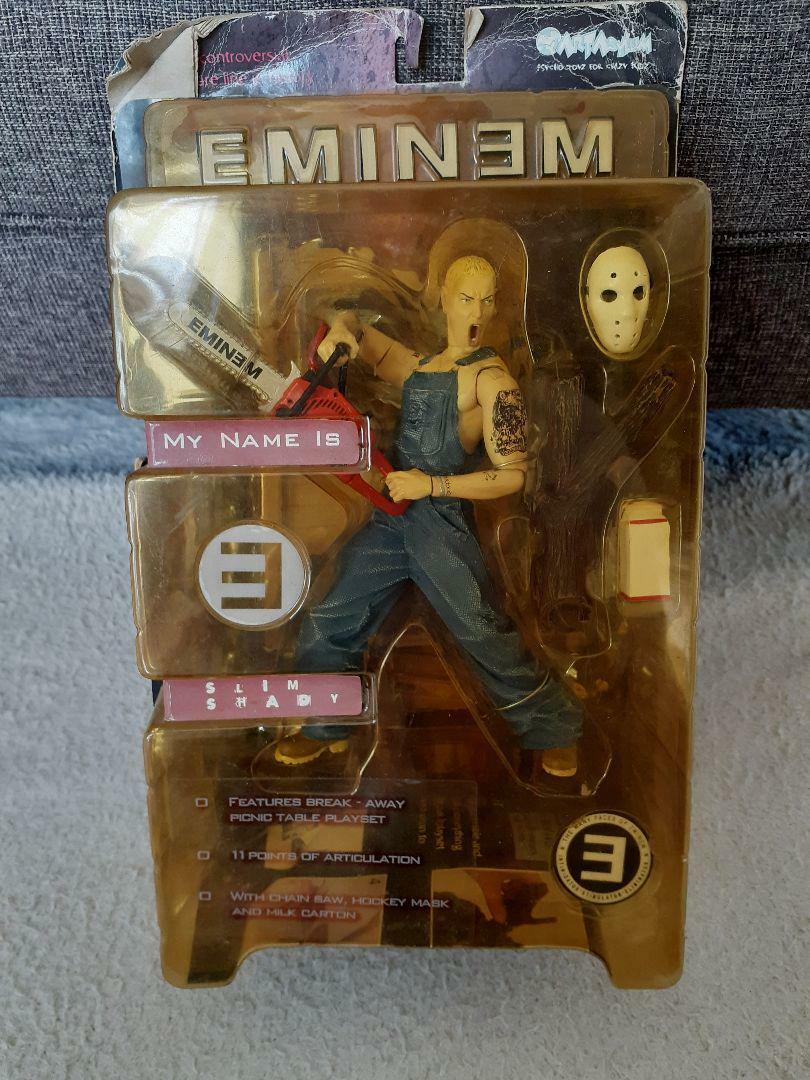 Eminem Figura de Acción arte Asylum 2001 Slim Shady sin usar