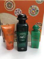 Hermes Aroma D'orange Vert Set 100ml Cologne 50ml Shower Gel 50ml Body Lotion
