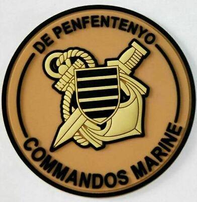 ECUSSON COMMANDOS MARINE SUR VELCROS ETAT EXCELLENT