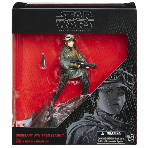 Star Wars Action Figure  Sergeant Jyn Erso Exclusive Rogue One Disney