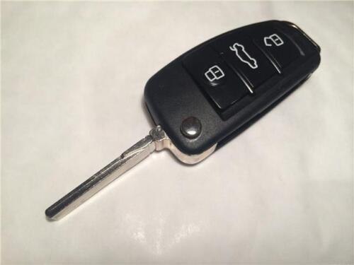 aud01 garanti! AUDI A4 Saloon flip cas de clé à distance avec clé coupé à votre voiture