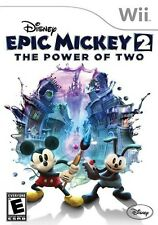 Disney Epic Mickey 2: The Power of Two - Nintendo  Wii Game