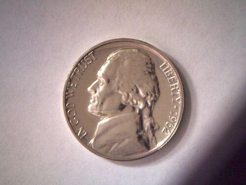 1962 5C Proof Jefferson Nickel **Free Shipping**