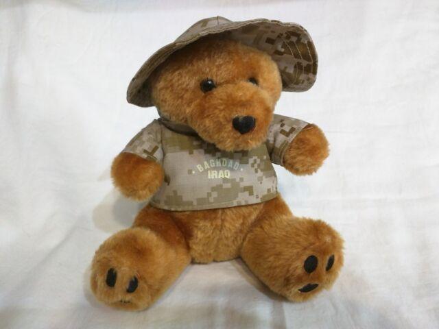 0beebc659a9 US Army Military Baghdad Iraq Teddy Bear Plush Dessert Digital Camo ...