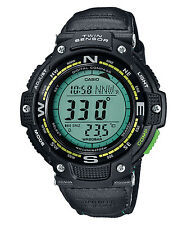 Casio SGW100B-3A2, Digital Compass, Thermometer, Nylon Strap Watch, 5 Alarms