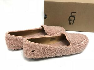 00aa222197f Details about Ugg Australia Hailey Fluff Loafer Suntan 1095108 Women's  Shoes Slippers Loafers