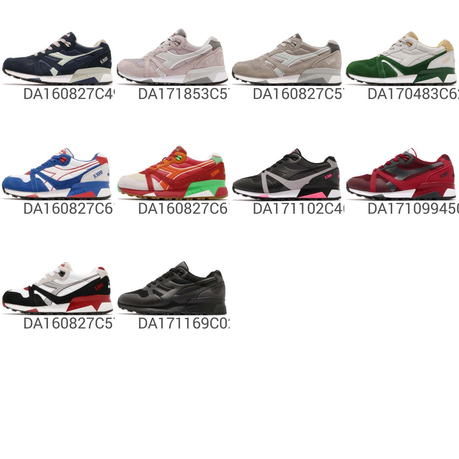 Diadora N9000 Series Vintage Style Classic Lifestyle Running zapatos Pick 1